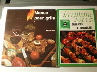 Livres de cuisinePOUR GRILLADES ET BARBECUES :