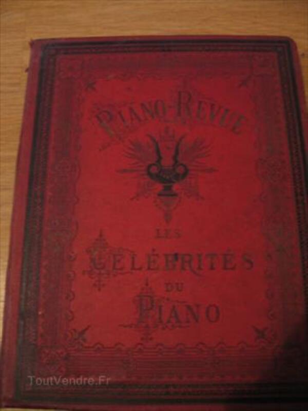 Livres de partition anciens *5 (Collection Piano-Revue) 87115958