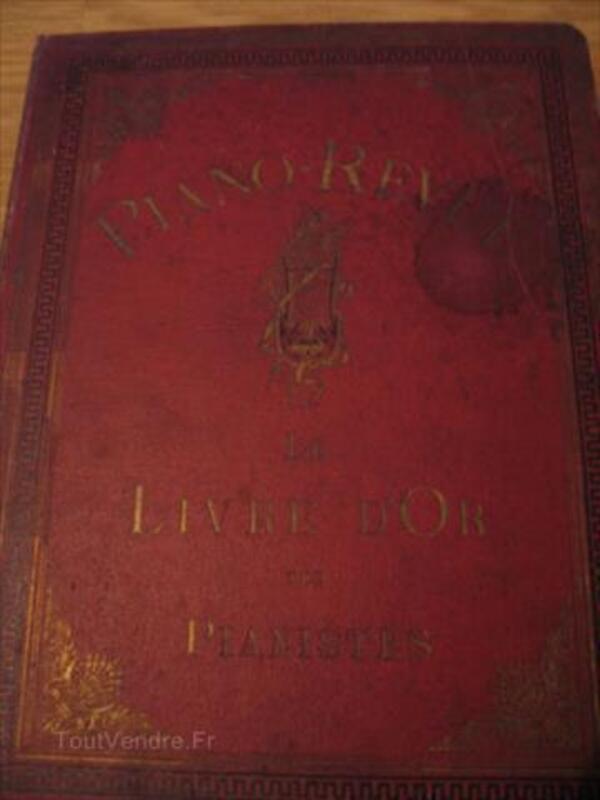 Livres de partition anciens *5 (Collection Piano-Revue) 87115959