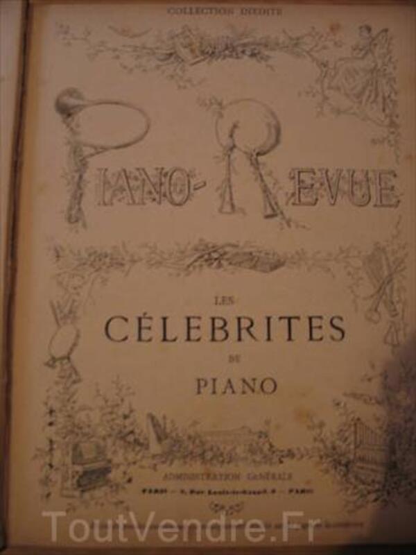 Livres de partition anciens *5 (Collection Piano-Revue) 87115960