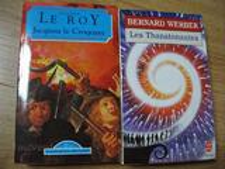 """Livres de poche """"EUGENE LE ROI"""" et """"les THANATONAUTES"""""""