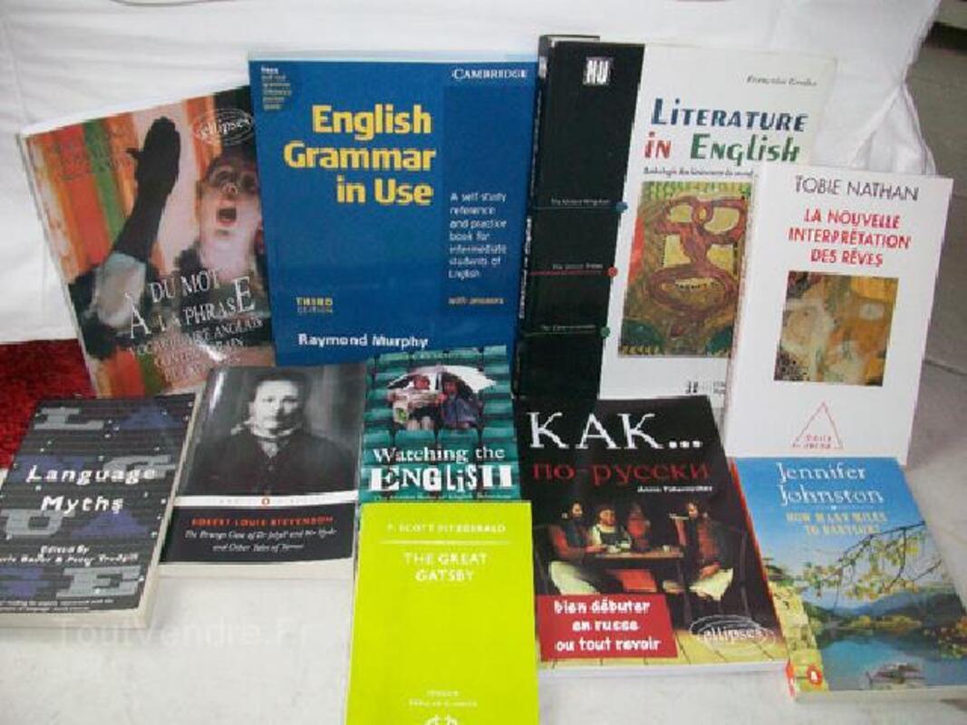 Livres en langues étrangères. scolaire 104939590