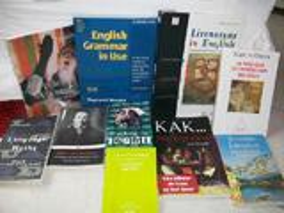 Livres en langues étrangères. scolaire