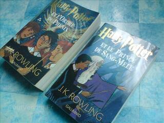 Livres Harry Potter 5 et 6