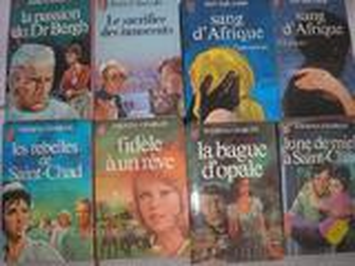 Livres konsalik/guy des cars/theresa charles