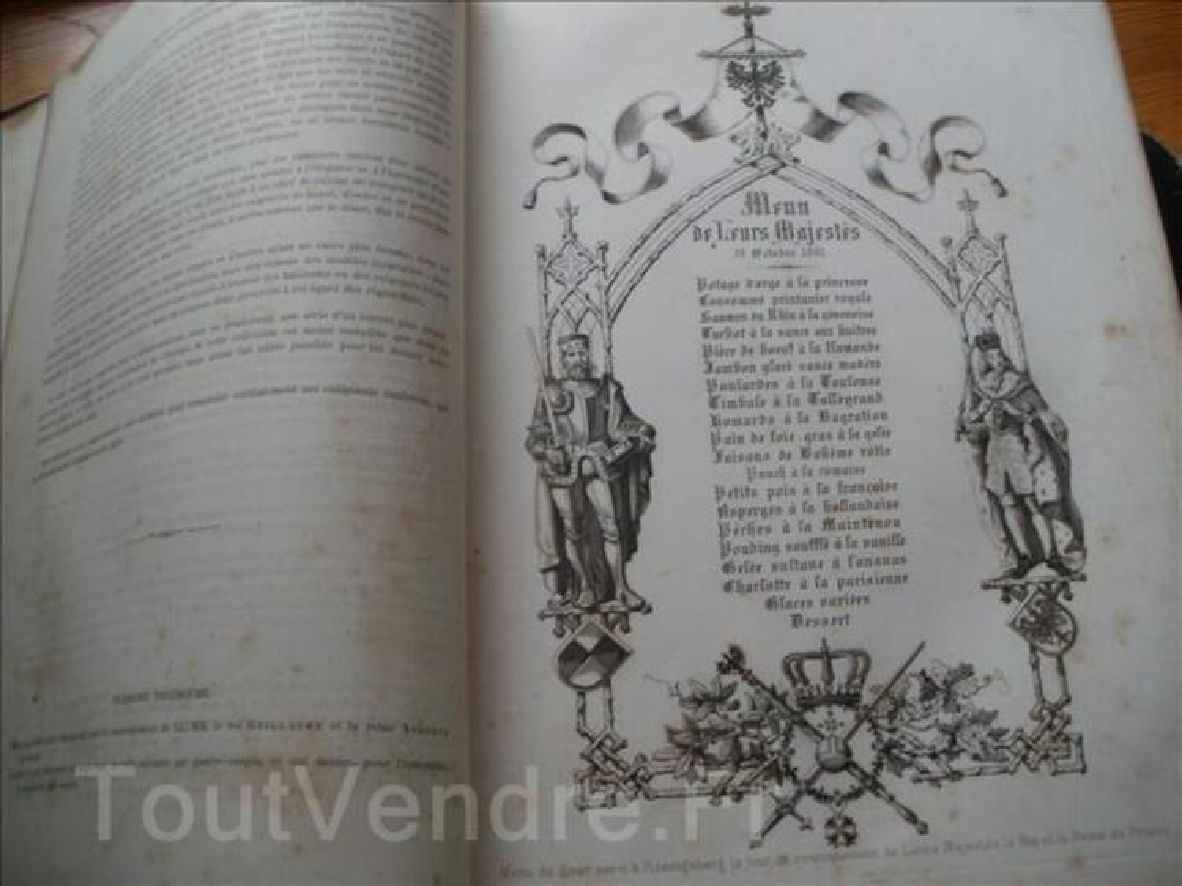 Livres la cuisine classique 2 vol.1868 . Troisièmes édition, 91306942