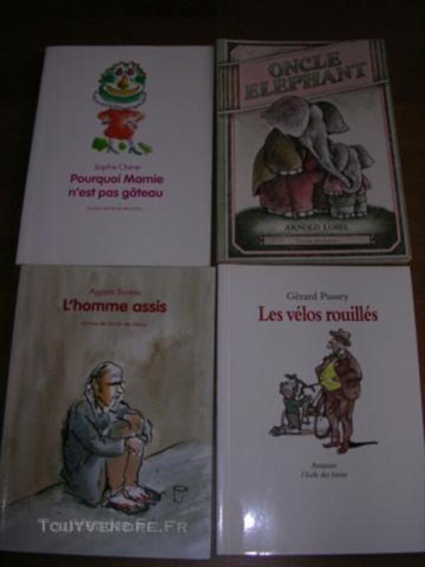 Livres pour enfants (romans école des loisirs) 44706401