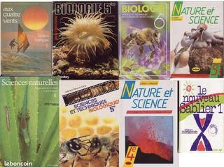 LIVRES SCOLAIRES SCIENCES ET TEXTES FRANCAIS (1978-87)