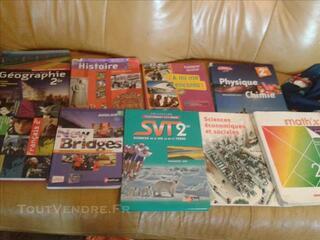 Livres seconde générale lycée fabert METZ