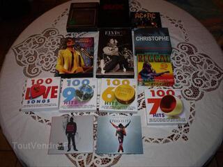 Lo t  N1     CD et DVD MUSIQUE    frais de port offerts