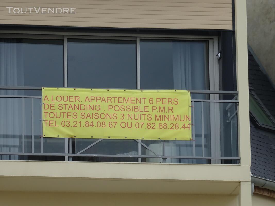 Location appartement standing 6 pers BERCK toutes saisons 676790436