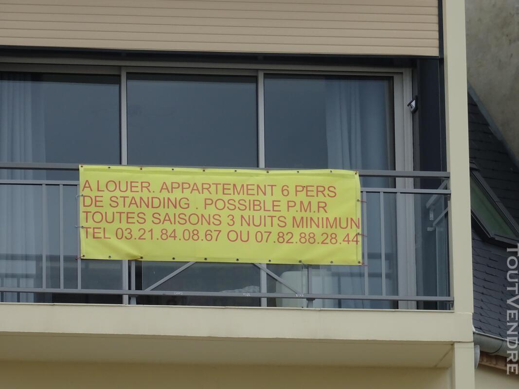Location appartement standing 6 pers BERCK toutes saisons. 682855887