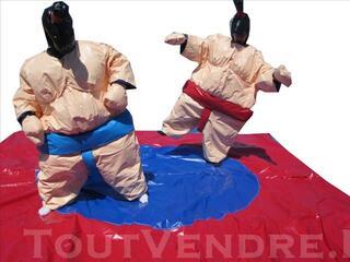 Location de Sumos jeux gonflables Aveyron Rodez