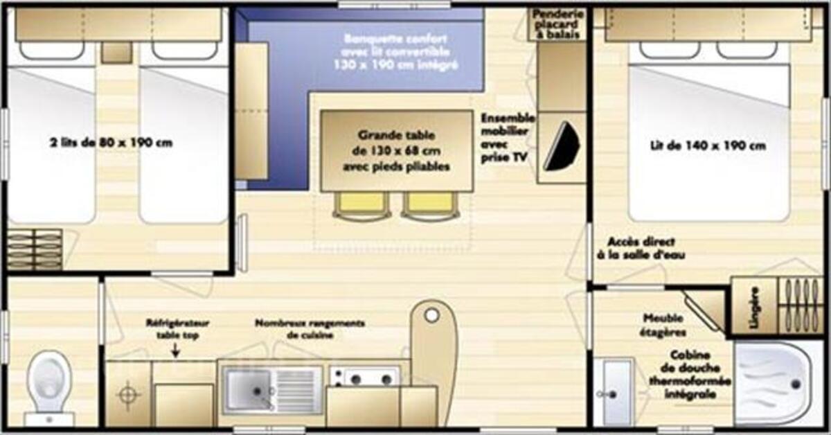 LOCATION MOBIL HOME RIVES DE CONDRIEU RHÔNE 59914460