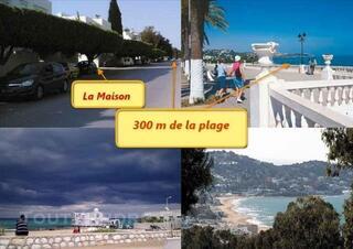 Location Vacances En Tunisie a La Marsa a 300m de la Plage
