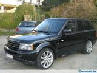 Location voiture de Luxe : Range Rover Sport HSE