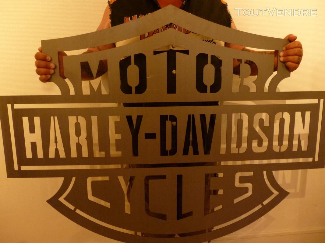 Logo méttalique Harley Davidson 486242905