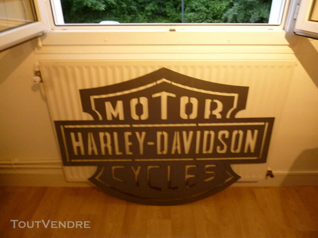 Logo méttalique Harley Davidson 486244249