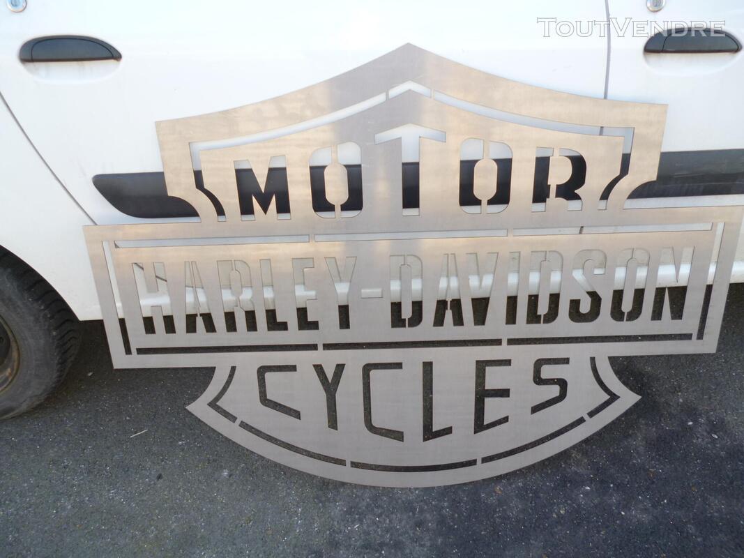 Logo méttalique Harley Davidson 486245110