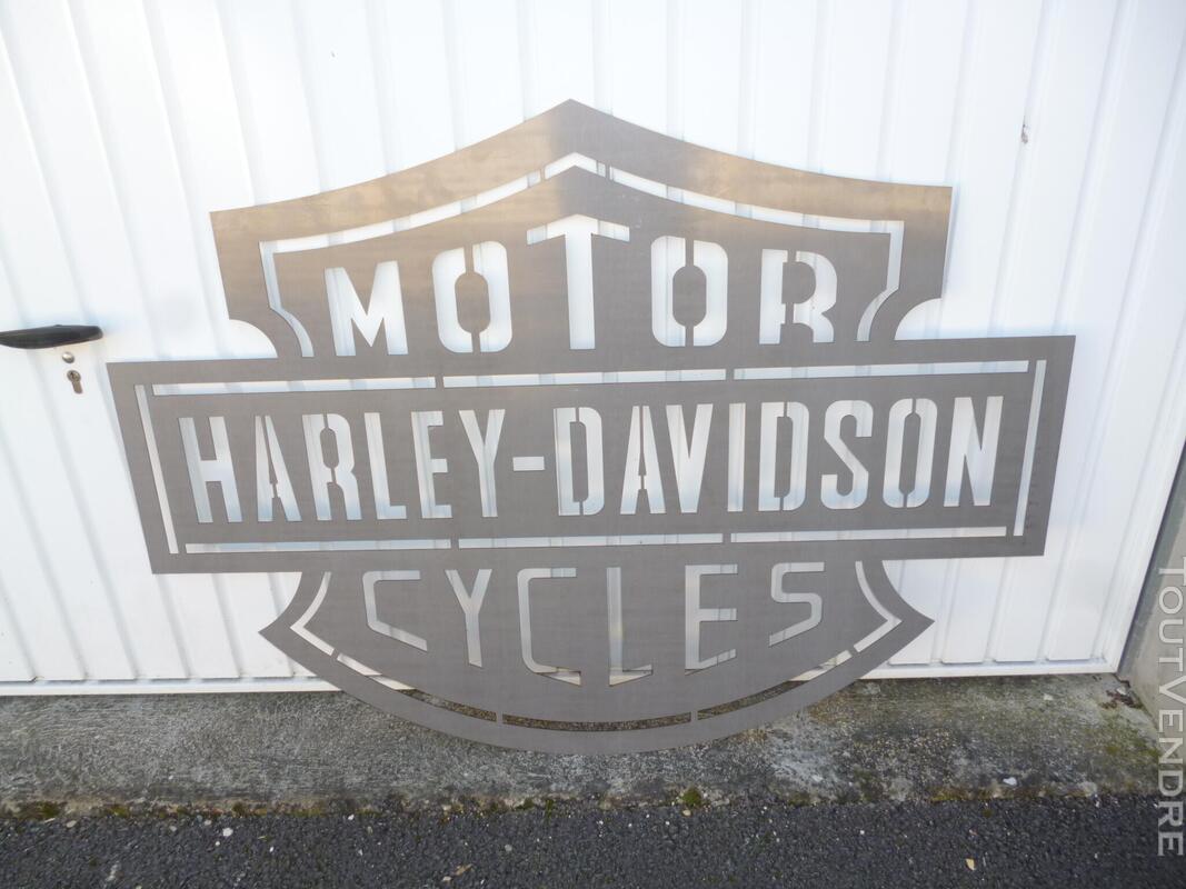 Logo méttalique Harley Davidson 486245329