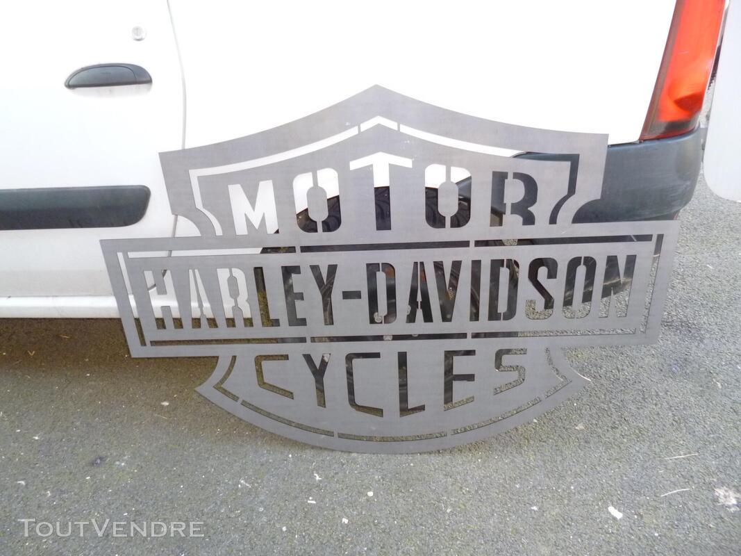 Logo méttalique Harley Davidson 486245368