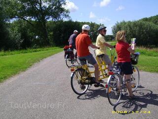 Loisirs à vélo sport à allure modérée