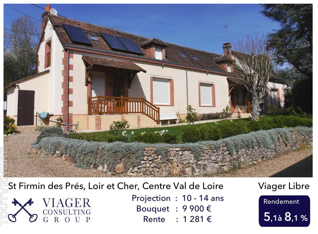 Longère rénovée de 220 m2 proche de Vendôme 211429229