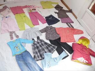 Lot 1 de vêtements automne/hiver en 3 ans