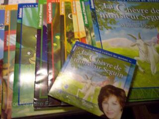 Lot 10 livres + CD  raconté p Marlène Jobert la chèvre