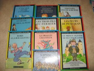 """LOT 10 livres """"Les belles histoires"""" 3 à 7 ans"""
