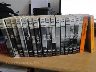 Lot 17 livres «Françis Coplan FX 18» de Paul Kenny