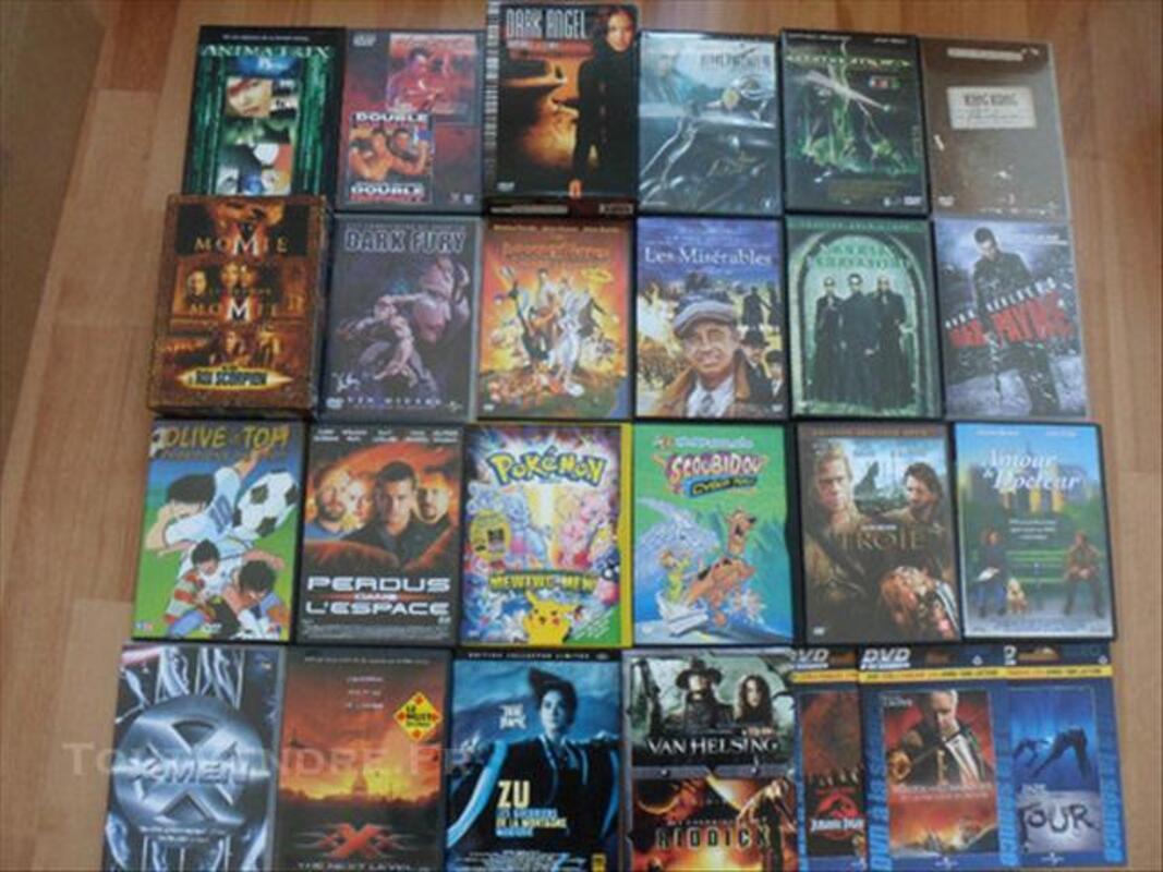 Lot 18 DVD + 4 Coffrets DVD + 3 DVD à la séance - 40€ 76721033