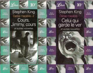 Lot 2 livres Danse macabre de S. King (BE)