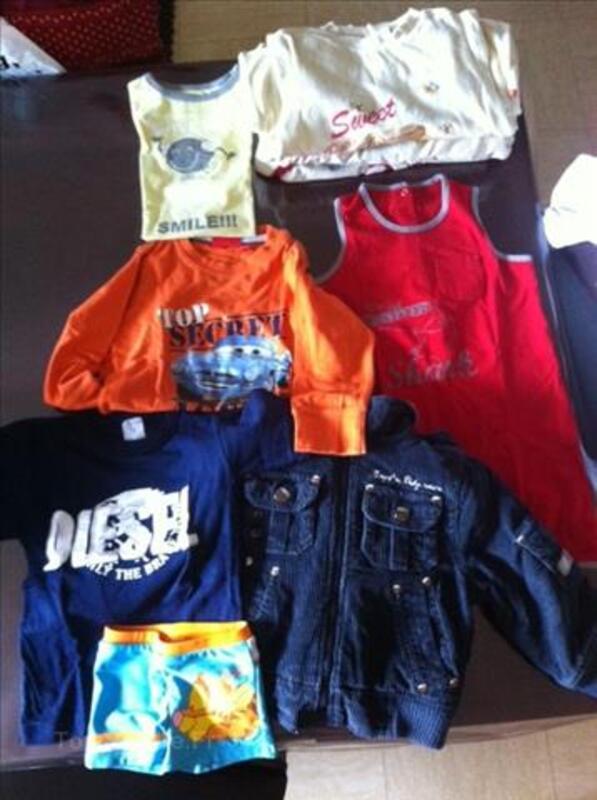 Lot 2 vêtements garçons 2 ans 106201133