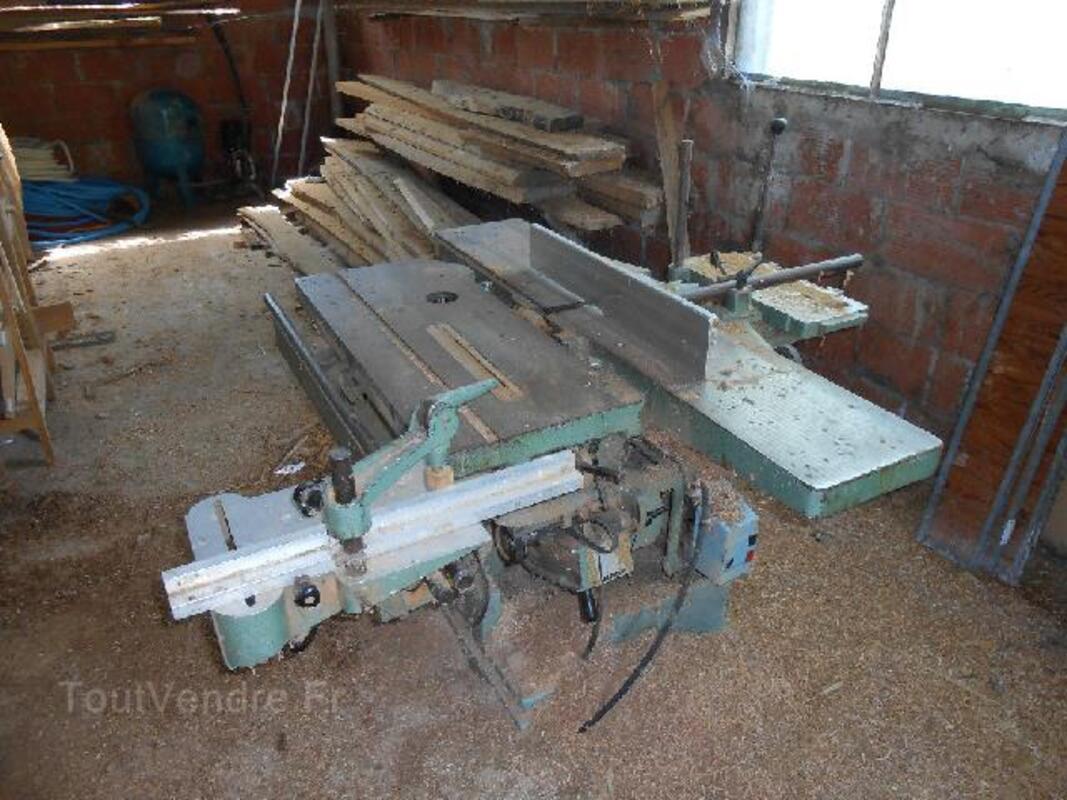 Lot 3 machines a bois de menuiserie 91918807