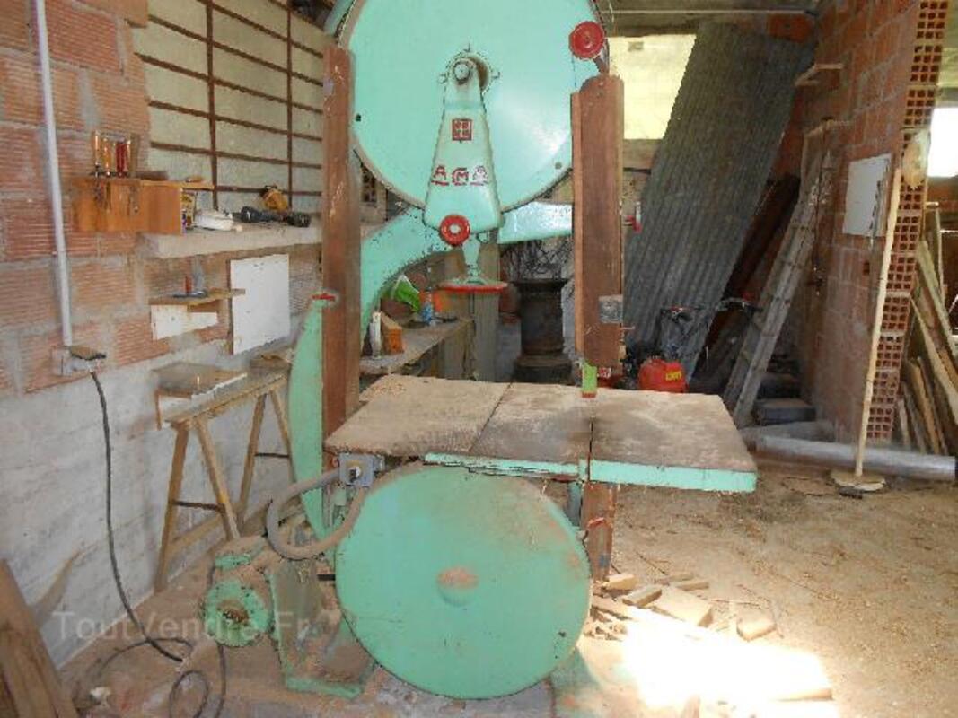 Lot 3 machines a bois de menuiserie 91918809