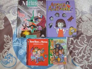 Lot 4 livres, Bd pour enfants 6/12 ans: Tom Tom et Nana