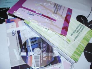 Lot 4 livres crpe cned (professeur écoles) 2008/2009