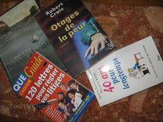 Lot 4 livres divers