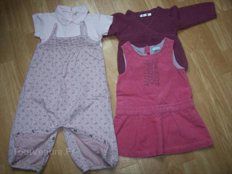 Lot 4 vêtements fille 12 mois 56337743