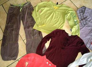Lot 5 vêtements filles de taille 10ANS