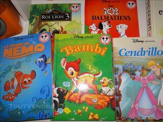 Lot 6 livres club du livre Mickey