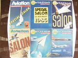 Lot 6 revues Magazine Aviation International 1975/1987