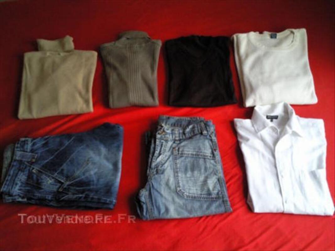 Lot 6 vêtements MODERNE jeans CELIO devred 40 / M 44959652