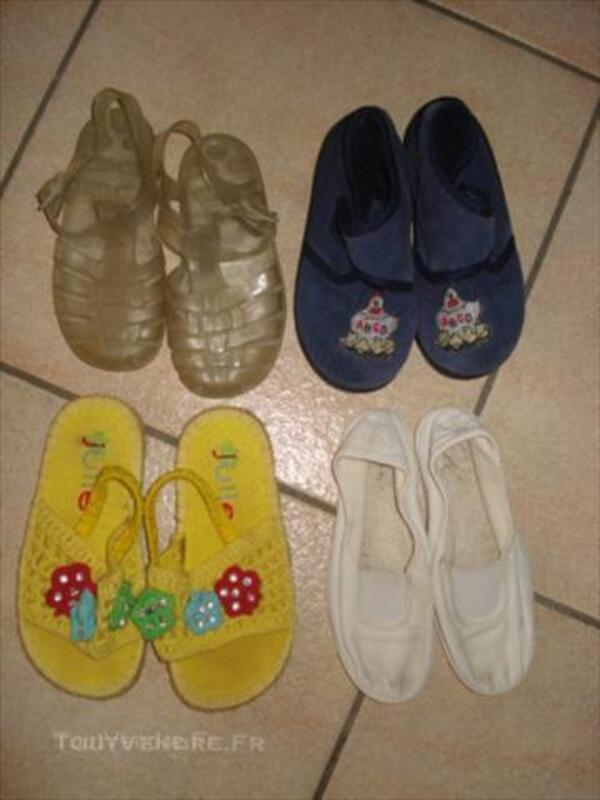 Lot 8 paires de chaussures 26: sandales méduses etc 44991915