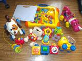 Lot 9 jouets fisher price/vtech/tomy