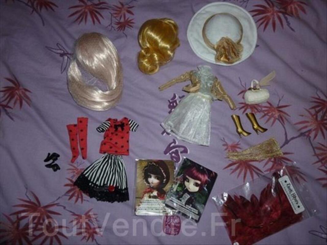 Lot accessoires et wig pullip 64479281