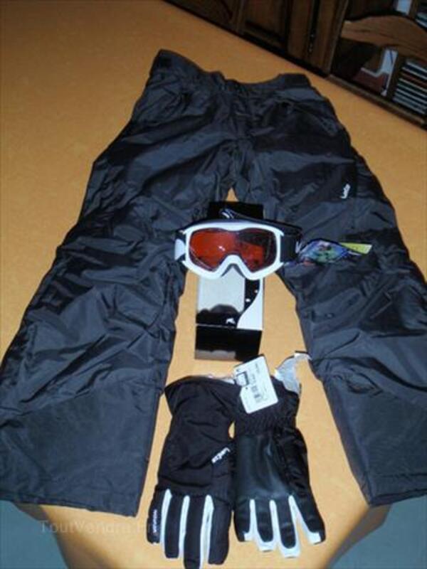 Lot affaires de ski enfant (12 ans) 56207355