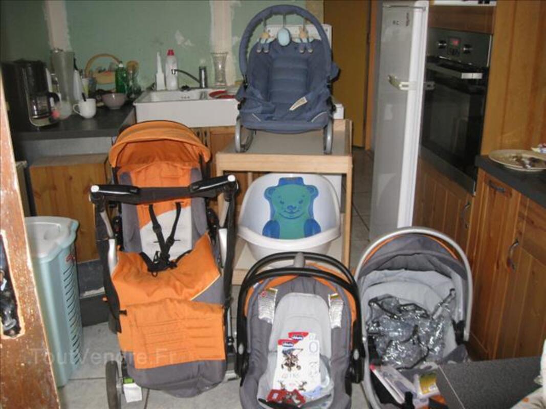 Lot bébé: poussette Chicco/table à langer/transat... 88222301