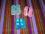 Lot chaussures/chaussons fille P 22